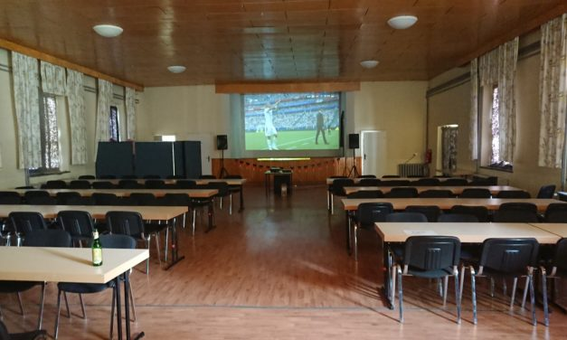 Public Viewing vom   12.06.2020 bis 12.07.2020